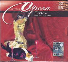 2 CD + 1 Dvd Box Cofanetto COFFRET ♫ GIACOMO PUCCINI ♫ TOSCA nuovo opera