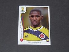 188 ZAPATA MILAN AC COLOMBIA PANINI FOOTBALL FIFA WORLD CUP 2014 BRASIL