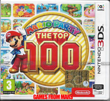 MARIO PARTY THE TOP 100 - Nintendo 3DS 2DS - NUOVO ITALIANO