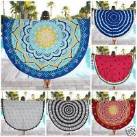 Indian Round Mandala Tapestry Wall Hanging Throw Shawl Boho Beach Yoga Mat Decor
