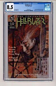 DC's Hellblazer #1 First Constantine Series CGC 8.5