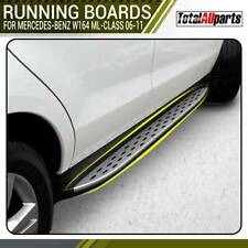 Strong Aluminium Side Step Running Boards for Mercedes Benz W164 ML Class 06-11
