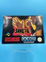 jeu video complet super nintendo SNES complet FAH shaq fu