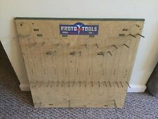 Vintage Logo Proto Tools Dealer Hardware Store Hammer Tool Display Rack 513 #169