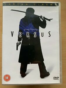 Versus DVD 2000 Ryuhei Kitamura Japanese Zombie Horror Movie Tartan Asia Extreme