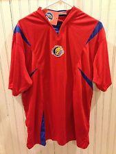 NWT New Camiseta Oficial Federacion Costarricense de Futbol Soccer Jersey Large