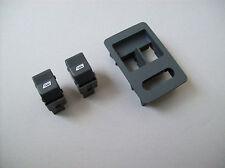 VW Polo 6N2 LUPO Electric Power Window Switch + Trim Bezel Black SET