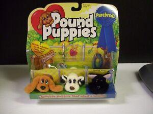 Vintage 1997 Galoob Pound Puppies Purebreds