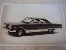 1967 PLYMOUTH 426 SATELLITE    11 X 17  PHOTO   PICTURE