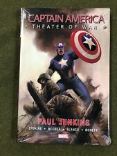 Captain America : Theater of War HC Hard Cover NEW!!  Sealed