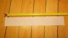 "KANGAROO SKIN LEATHER STRIP VEG TANNED NATURAL 500 x 75 (19""x 3"") strop"