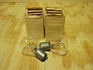 Tung-Sol # 6-8 volt 21-21 C.P. headlamp bulbs 2 ea Cord Hudson Nash Packard NOS!