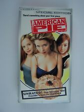 American Pie - Unrated Edition VHS
