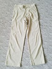 New Patagonia Mens Hiking Outdoors Athletic Cargo Pants Polyester 30x33 Golden
