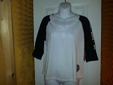 Pure Barre POLO STYLE ( FIT, TONE,BURN) ON SLEEVE 3/4 SLEEVE SIZE XS