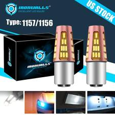 1157 1156 LED White Light Bulb for Chevrolet Corvette  Impala Caprice Camaro C35