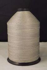 Nylon Bonded Thread 207 Silver- 16oz spool