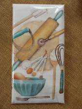 Mary Lake Thompson Flour Sack Towel - Dessert Baking - Rolling Pin, Egg Bowl