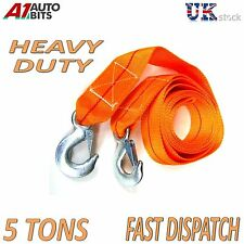5 TONNE 5T 3.5M Tow Towing Pull Rope Strap Heavy Duty Road Recovery Car Van bag