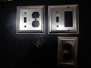 State Star Corp. Decorator wall plates Statin (3 plates & Screws)