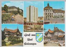 (92343) AK Bad Salzungen, Mehrbildkarte, 1976