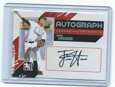 2010/11 In the Game-Jake Hager RC on card autograph-Rays