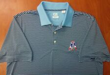 Cutter & Buck NFL New England Patriots Football DryTec Golf Polo Shirt L ~NEW~