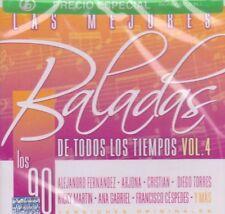 Ricardo Arjona Jose Jose Baladas De Todos Los Tiempos Vol4 New Sealed