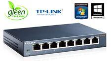 Netzwerk Switch EASY SMART 8 Port TP-Link 10/100/1000 Mbit LAN TL-SG108E Gigabit