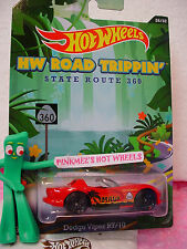 2014 Road Trippin #26 DODGE VIPER RT/10∞Red;Maui Rt 360;Palm Tree∞Hot Wheels
