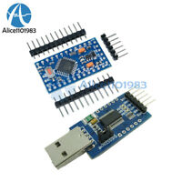 FT232RL USB To Serial Adapter Module + Pro Mini Atmega328 3.3V 8M for Arduino