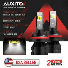 2X AUXITO 9007 HB5 LED Headlight Conversion Kit 20000LM Hi Lo Beam Bulb 6000K Z1