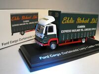 EDDIE STOBART MODEL FORD CARGO TRUCK LORRY CURTAINSIDER SCALE 1:76 BOXED NEW