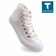 Alister Men's Fashion Shoes High Cut Sneakers - (WHITE)  SIZE 39