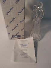 Princess House Lead Crystal Bride& Groom Figurine Wedding CakeTopper 24% crystal