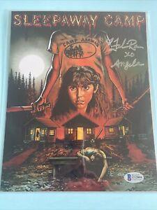 Fellisa Rose Signed Sleepaway Camp 8x10 Photo Autograph BAM BOX HORROR