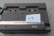 Vtg Telex 92711-011 Copyette 1 & 1 Cassette Tape Duplicator w / One Sony MA-50