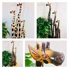 More details for wooden giraffe 25cm 60cm 80cm 100cm
