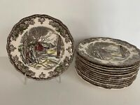 Johnson Brothers Friendly Village SUGAR MAPLES Bread Plate Set of 13