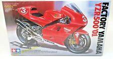 TAMIYA 1/12 FACTORY YAMAHA YZR500 '01 SPORT MOTORCYCLE KIT 14088 F/S