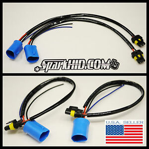 HID Wire Harness Plug Ballast Connector 9007 9004 Bulbs SATURN Ion Endeavor Neon