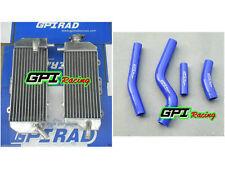 FOR YAMAHA WR450F WRF450 WRF 450 2012 2013 2014 2015 Aluminum Radiator and hose