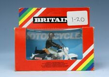 "BRITAINS MOTORCYCLES © 1980: #9692 US SHERIFF ~ MINT in ""RAINBOW"" WINDOW BOX"