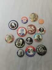 Presidential Political Buttons Pin