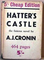 Hatter's castle - cronin - gollancz -  1950