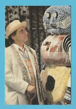 DOCTOR WHO -  SLOW DAZZLE WORLDWIDE POSTCARD  -  DOCTOR  WHO  CARD  NO. 21