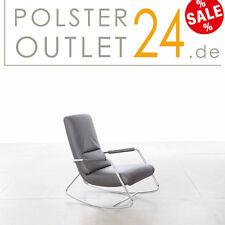 W.Schillig Einzel-Sessel in Leder Z71/56erdbraun / Modell 17750 misterxx