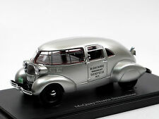 AutoCult 04007 1934 McQuay-Norris Streamliner Aluminium Egg 1/43 Test Car