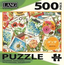 SEED PACKETS - LANG ART - 500 PIECE JIGSAW PUZZLE - BRAND NEW - 5039122