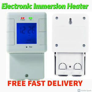 BG Electronic Immersion Heater Timer 24 Hour Programmable Heaters Lights Power